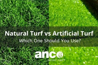 Natural Turf vs Artificial Turf – Which One Should You Use?