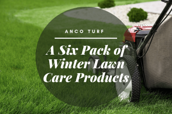 A Six Pack of Winter Lawn Care Products