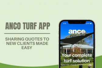 TRADE CUSTOMERS ALERT! Sharing Quotes to New Clients Made Easy with Anco Turf App