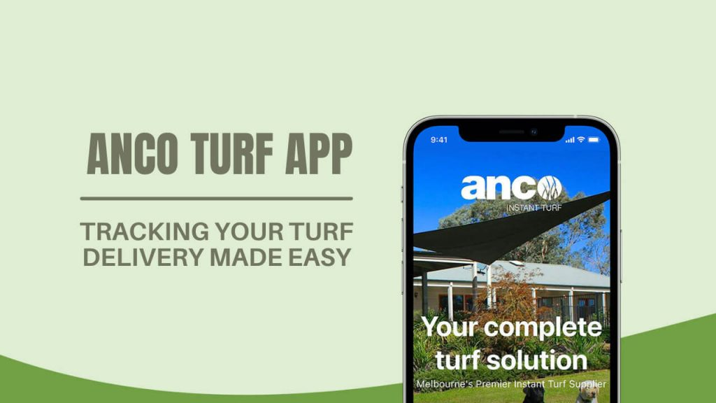 tracking your turf delivery